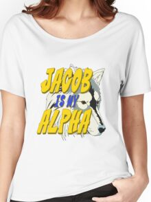 Jacob is my Alpha Twiliight Women's Relaxed Fit T-Shirt