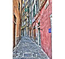 Vicoli di Genova Photographic Print