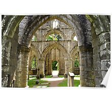 Archways at Dunkeld Cathedral. #2 Poster