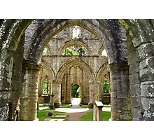 Archways at Dunkeld Cathedral. #2 Photographic Print