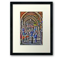 Sottoripa, vicoli di Genova Framed Print