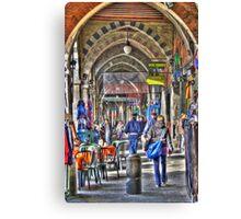 Sottoripa, vicoli di Genova Canvas Print