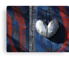 Patriotic Heart.  Canvas Print
