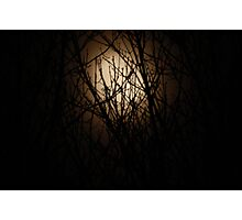Misty Moon Photographic Print