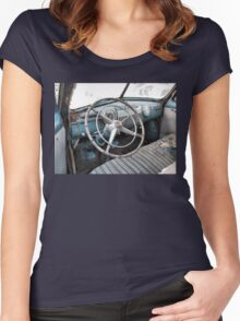 """""""1942 Cadillac Series 61 Coup - Sneak Peek""""... prints and products Women's Fitted Scoop T-Shirt"""