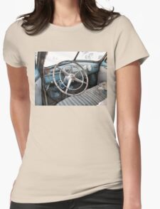 """1942 Cadillac Series 61 Coup - Sneak Peek""... prints and products Womens Fitted T-Shirt"