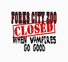 Forks City Zoo Closed Twilight Unisex T-Shirt