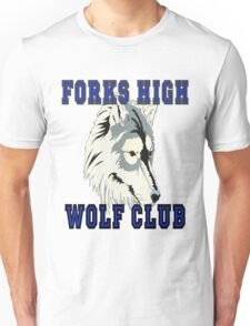 Forks High Wolf Club Twilight Werewolf Unisex T-Shirt