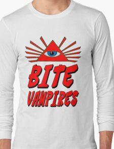 I Bite Vampires Long Sleeve T-Shirt