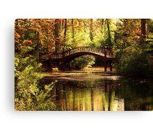Crim Dell Bridge 2 Canvas Print