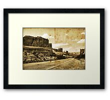 Did You Hear About... Framed Print
