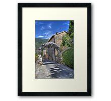 Spello Framed Print