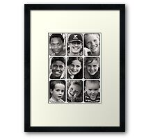 Nine of the Best Framed Print