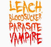 Leach Bloodsucker Parasite Vampire Twilight Unisex T-Shirt