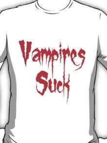 Vampires Suck Twilight T-Shirt