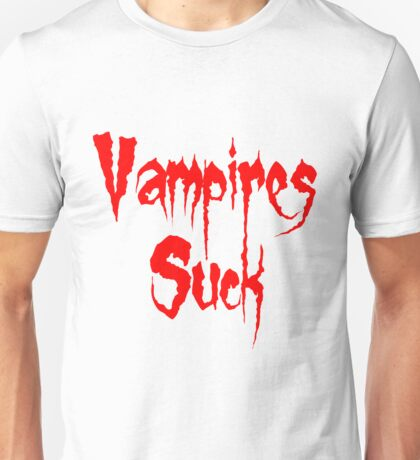 Vampires Suck Twilight Unisex T-Shirt