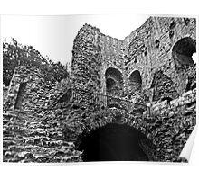 Norham Castle Ruins Poster