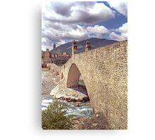 Hunchback Bridge - Bobbio - Italy Canvas Print