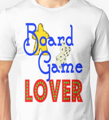 Board Game Lover Unisex T-Shirt