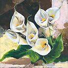 Callas - One of my Favorite Flowers by Elisabeta Hermann