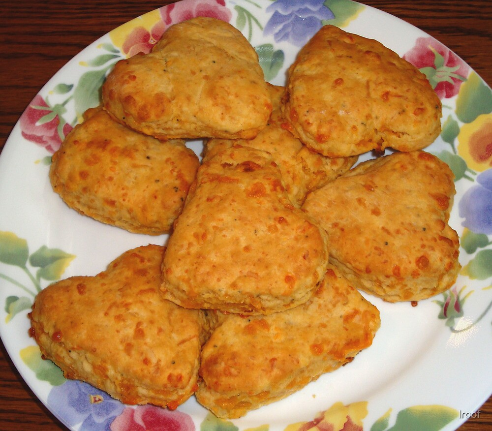 Heart-shaped Biscuits by lroof