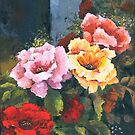 Roses - Just Stop and Smell their Perfume... by Elisabeta Hermann