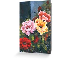 Roses - Just Stop and Smell their Perfume... Greeting Card