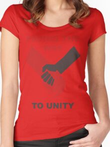 Unity Women's Fitted Scoop T-Shirt