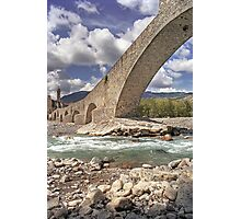 Bobbio - Old Bridge Photographic Print