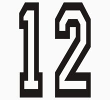 TEAM SPORTS, NUMBER 12, TWELVE, 12, TWELFTH, Competition by TOM HILL - Designer