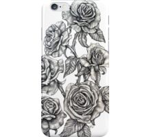 Roses in Pencil iPhone Case/Skin