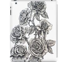 Roses in Pencil iPad Case/Skin