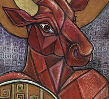 The Minotaur in the Maze by Lynnette Shelley