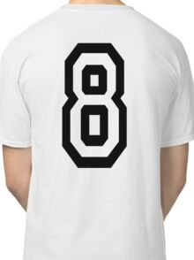8, EIGHT, TEAM SPORTS, NUMBER 8, eighth, competition Classic T-Shirt