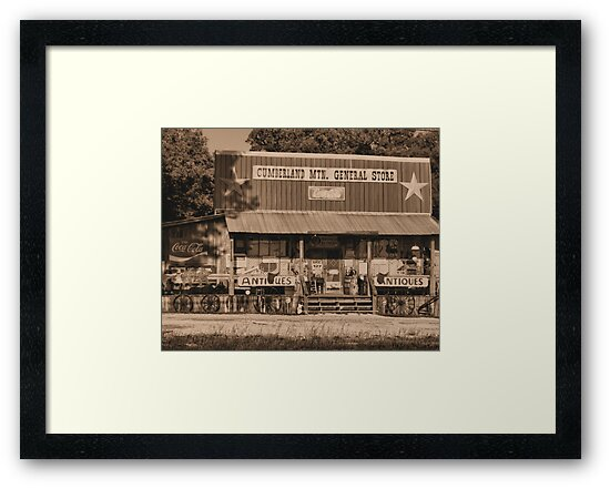 """""""Cumberland Mountain General Store""""... prints and products by © Bob Hall"""