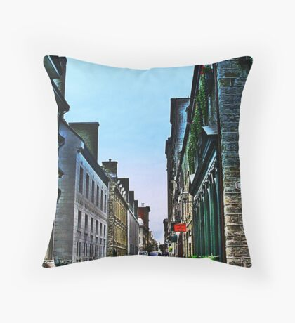 Rue De La Barricades  Throw Pillow