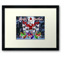 Jingle Bulls Jingle Bulls Framed Print