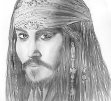 Captain Jack Sparrow by lissygrace