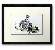 """""""Vietnam Warrior"""" Framed Print"""