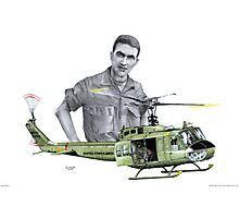 """Vietnam Warrior"" Photographic Print"