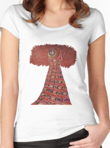 Urgolgolaxx- The Living Beacon T-Shirt Women's Fitted Scoop T-Shirt
