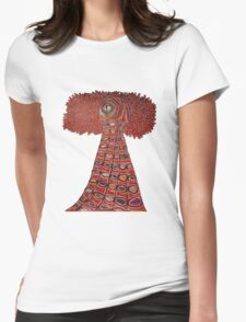 Urgolgolaxx- The Living Beacon T-Shirt Womens Fitted T-Shirt