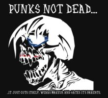 Punk's Not Dead...it's Emo by playgrounded