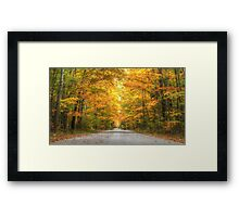To Grandmother's House We Go Framed Print