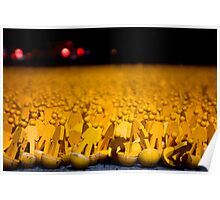 Yellow Peoples Poster