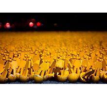 Yellow Peoples Photographic Print