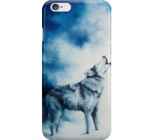 Midnight Cry of the Wolf iPhone Case/Skin