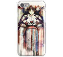 Shinji Evangelion Anime Tra Digital Painting  iPhone Case/Skin