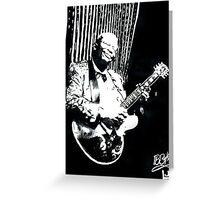 BB KING Tribute Greeting Card