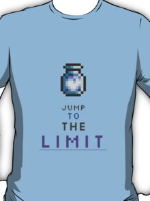 Jump To The Limit Terraria T-Shirt